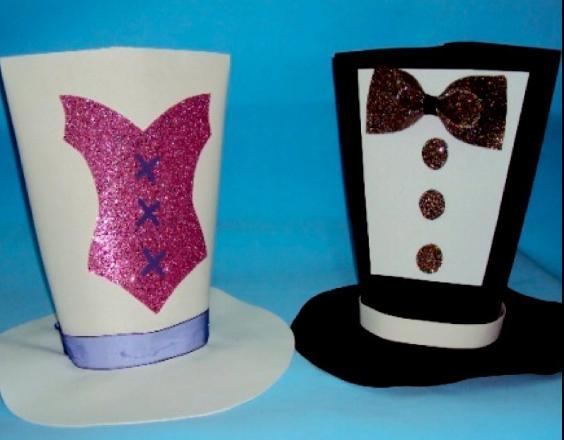 Moldes de sombreros de fomi - Imagui