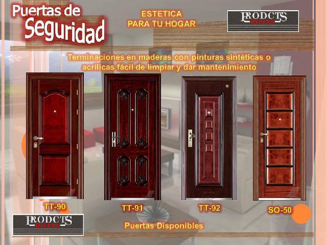 Puertas de seguridad en guadalajara for Puertas seguridad