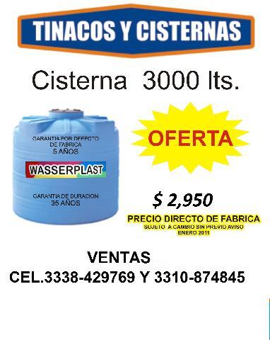 Im genes de tinacos y cisternas de 3000 y 5000 nuevos en for Cisterna de agua precio