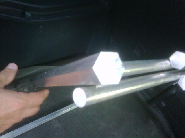 Perfiles especiales de aluminio barras de aluminio - Barras de aluminio huecas ...