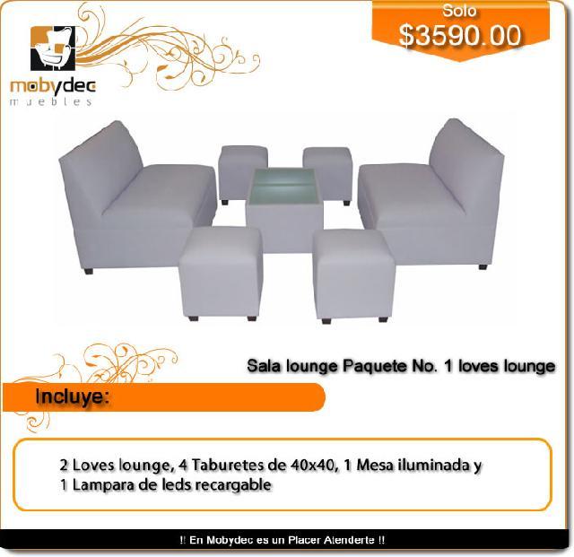Salas lounge venta mobydec muebles para bar barras for Sillones para bar