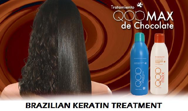 Tratamiento de chocolate para el cabello brasileno