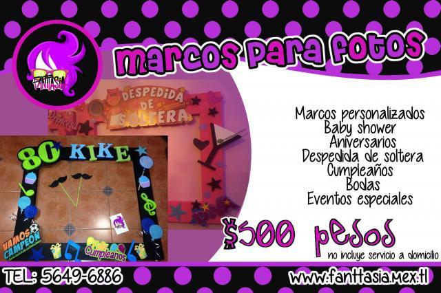 Marcos personalizados para fiestas de cumpleaños - Imagui