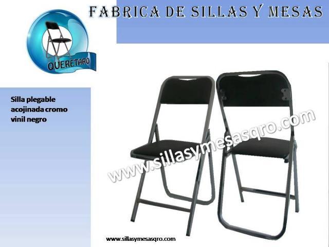 Fabrica de sillas y mesas plegables queretaro en arroyo seco for Sillas para ver television