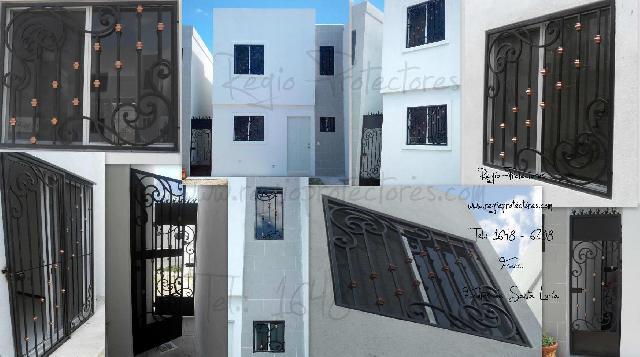 Protectores, Protectores para ventanas y puertas de hierro forjado