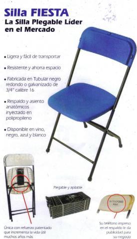 Im genes de venta de sillas y mesas plegables y fijas en for Medidas sillas ninos