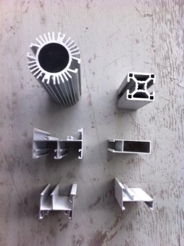 Im genes de perfiles de aluminio para disipadores barras - Barras de aluminio huecas ...
