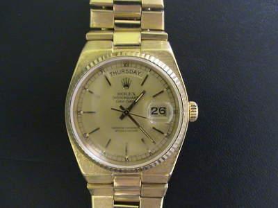 Reloj Rolex Presidente Day Date Oysterquartz En Los Cabos