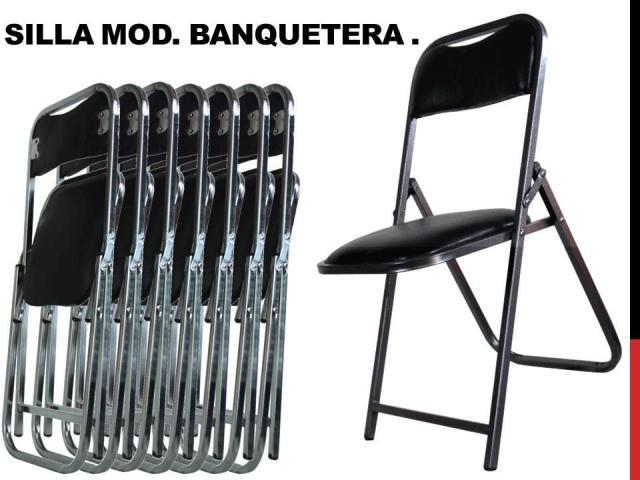 Im genes de venta de mesasy sillas plegables en morelia for Sillas plasticas plegables