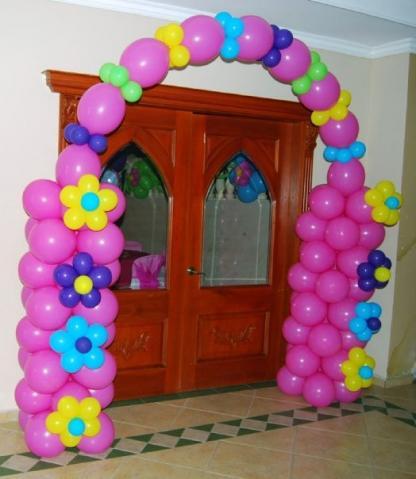 Im genes de decoracion con globos por iniciacion precios for Decoracion con globos precios