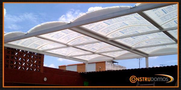Instalacion de domos de policarbonato en tonala for Techos de policarbonato para azoteas