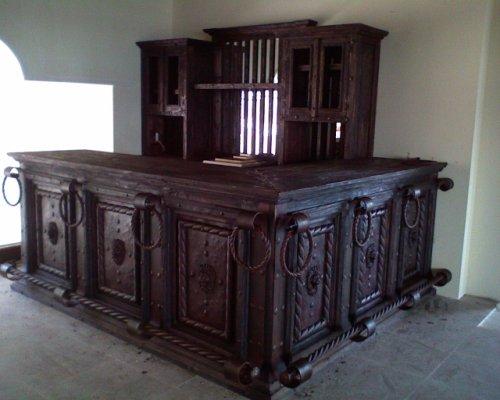 muebles rusticos de forja española en Chapala