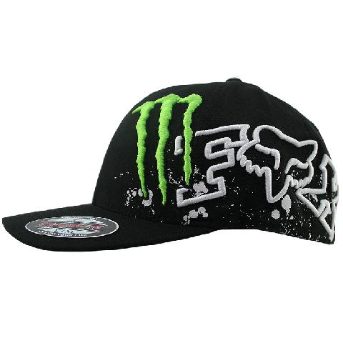 fbe39719950e Gorra Fox Racing Monster Rc Replica Chop Flexfit !!Envio Gratis!! en ...