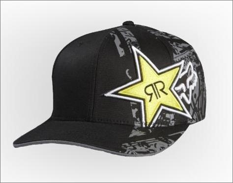 Imágenes de Gorra Fox Racing Rockstar Tonic Medium Profile Flexfit ... 23449c28c8d