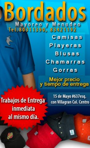 d3b1fa607d0b4 BORDADOS CMF en Monterrey