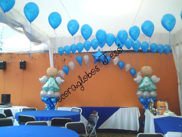 Im genes de hermosas decoraciones con globos y for Decoracion para pared con globos