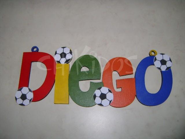 Nombres decorados en madera imagui - Letras de nombres para decorar ...