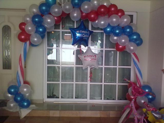 Bodas xv a os decoracion con globos para tu evento en cuauht moc - Decoracion con globos 50 anos ...