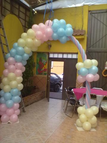 Im genes de bodas xv a os decoracion con globos para tu evento en cuauht moc - Decoracion con globos 50 anos ...