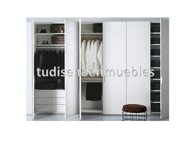 Closets Modernos de Madera Muebles Macal COCINAS Y CLOSETS MACAL
