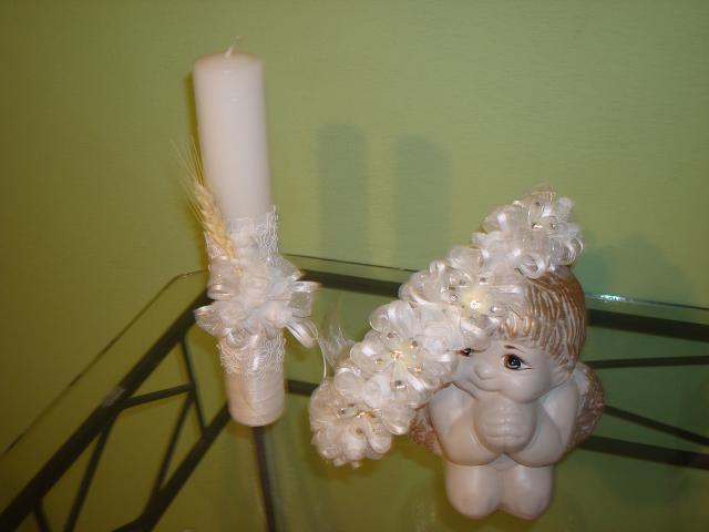 Fotos de velas decoradas para primera comunión - Imagui