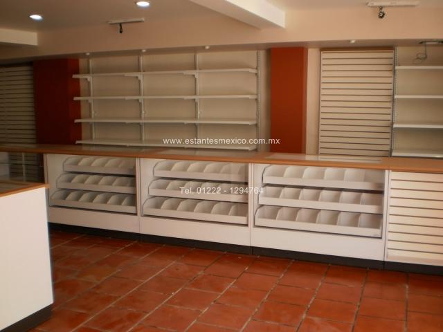 Mostradores y vitrinas para tiendas farmacias y palelerias en puebla - Mostradores para negocio ...