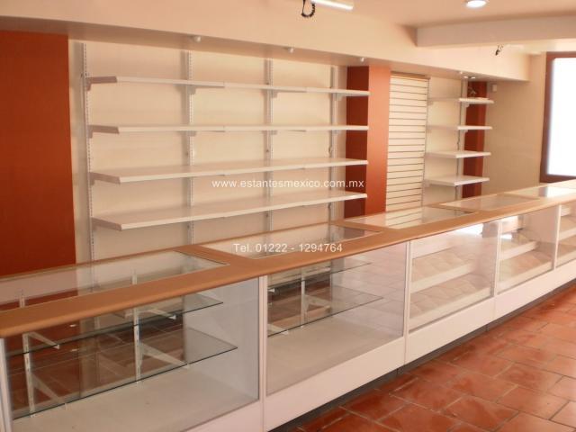 Mostradores y vitrinas para tiendas farmacias y palelerias - Muebles para estancos ...