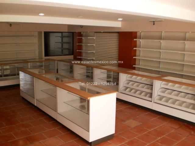Im genes de mostradores y vitrinas para tiendas farmacias - Muebles para estancos ...