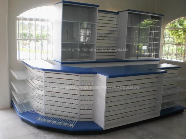 Muebles para minisuper muebles para farmacias muebles for Muebles para papeleria
