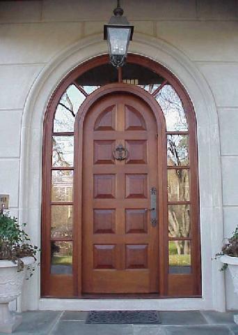 Madeco y maccar puertas solidas de madera en santo tom s for Ver puertas de madera