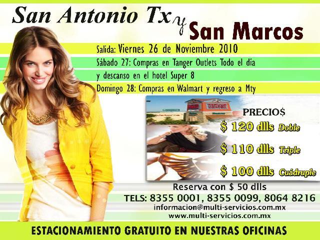 Viaje De Compras San Marcos Texas Y San Antonio