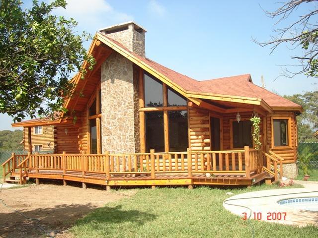 Im genes de madereria las caba as en monterrey - Casas de madera de troncos ...