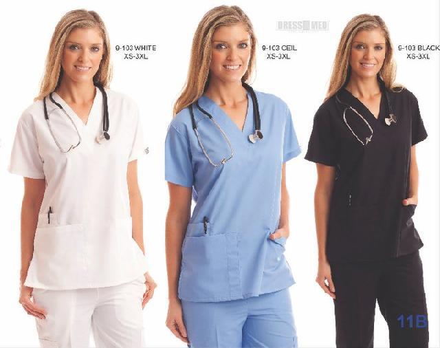 uniformes medicos chile, uniformes clinicos