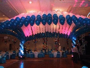 venta de globos metalicos de 22 y adorno en Toluca