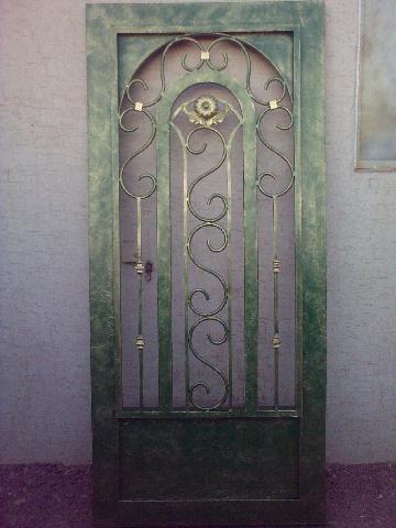 Puerta de herreria artistica en hermosillo for Puertas de herreria artistica