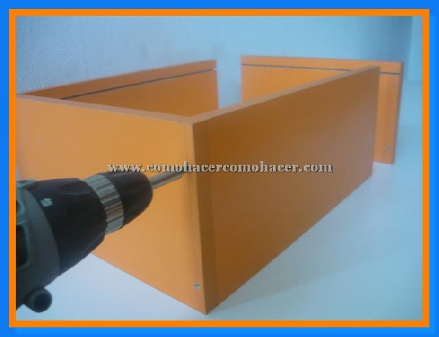 Aprende hacer muebles de melamina tutorial gratis en for Fabricar muebles