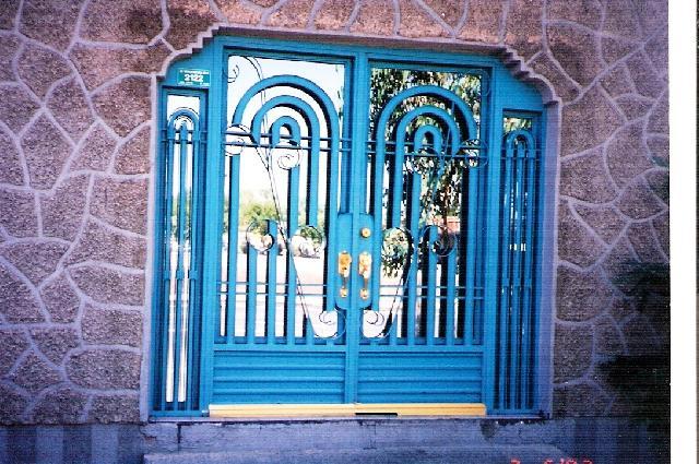 Im genes de puertas de hierro forjado en chihuahua for Imagenes de puertas de hierro