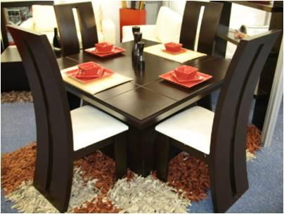 Fabrica de muebles en acapulco de juarez for Comedores modernos para 4 personas