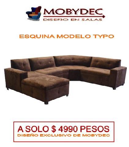 Im genes de salas para casa fabrica de salas mobydec for Muebles de oficina usados mexicali