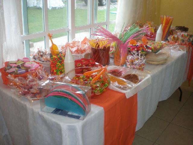 Candyfrut en mexicali for Mesas de dulces infantiles