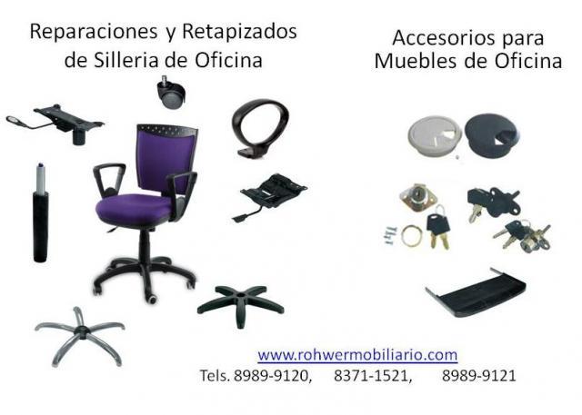Reparacion de sillas de oficina en monterrey for Repuestos sillas de oficina