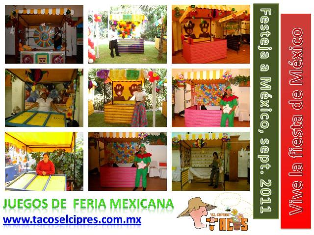 Fiestas mexicans taquizas mexicana para bodas eventos for Decoracion kermes mexicana