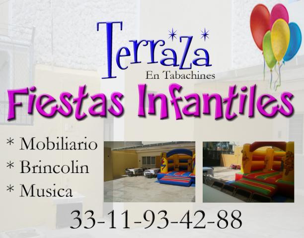 Terraza Fiestas Infantiles En Zapopan