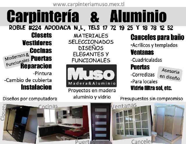 Ventanas cuadriculadas cancel para ba o puertas for Ventanas de aluminio en monterrey