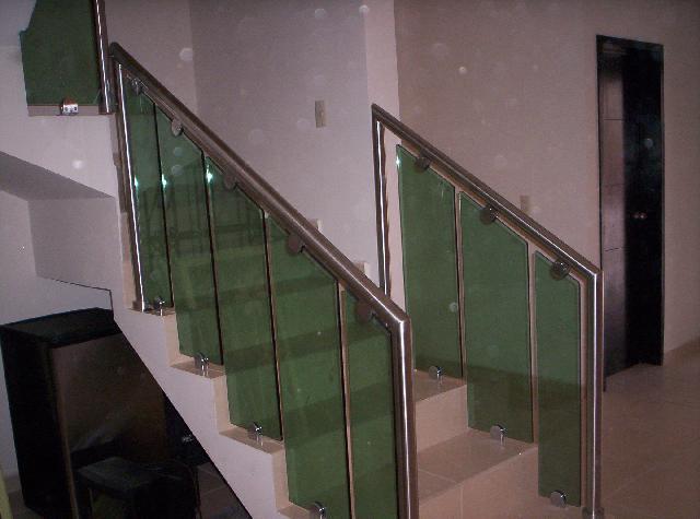 Todo en acero inoxidable barandal pasamanos vidrio templado en - Todo en inoxidable ...