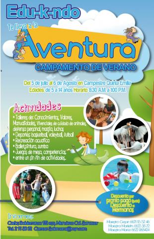 Campamento de verano en hermosillo sonora en hermosillo for Albercas portatiles en hermosillo