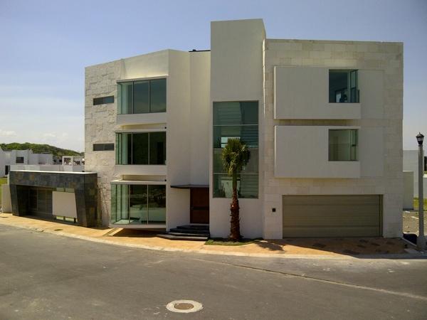 Casas con cantera minimalistas and post fachadas de com - Fachadas casas minimalistas ...
