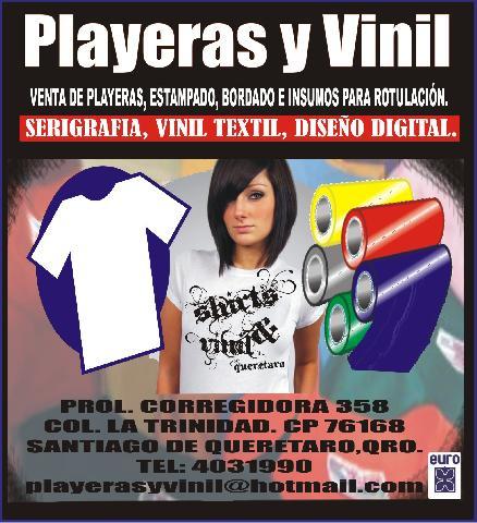 Playeras y Vinil Queretaro en Queretaro 53e019824c4f8