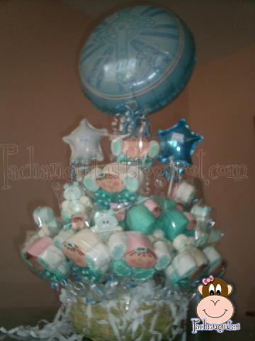 Imagenes de peceras decoradas para baby shower - Peceras pequenas decoradas ...