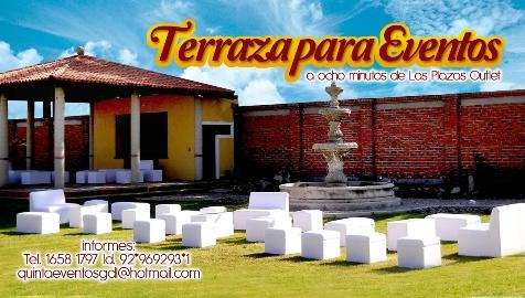 Terraza Jardín Para Tus Eventos En Tlajomulco De Zuñiga